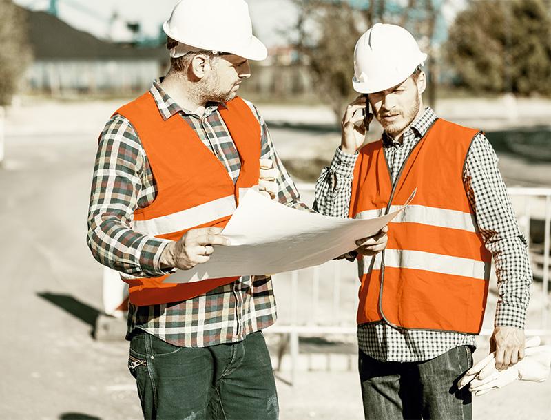 Bauleitung Erd-, Straßen- und Tiefbau